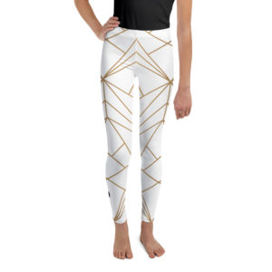Leggings - CL Gold-White Youth Leggings – CL Gold-White Youth mockup 00807df2 300x300
