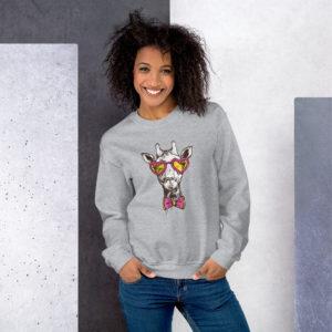 Sweatshirt - CL Giraffe Sweatshirt – CL Giraffe mockup f990bafd 300x300