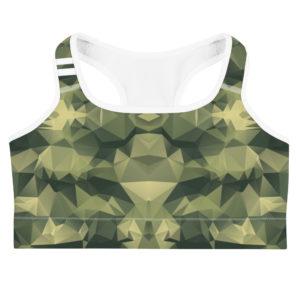 Sports bra - CL Khaki Stripe Sports bra – CL Khaki Stripe mockup 22938e91 300x300