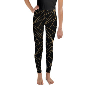 Leggings - CL Gold-Black Youth Leggings – CL Gold-Black Youth mockup bd1c348f 300x300