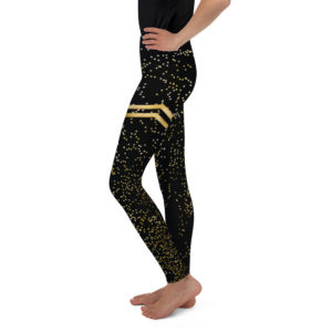 c&l gold stripe youth legging Leggings – CL Gold Stripe Youth mockup b5f8e5b4 300x300