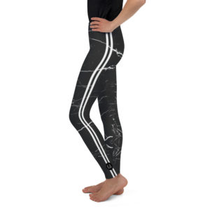 Leggings – CL Black Marble Stripe Youth mockup e2769a38 300x300